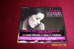 SEXY LOUGE EMOTION  °° COMPIL OFFICIELLE DU SALON DE L'EROTISME  16 TITRES  °  NEUF SOUS CELOPHANE - Compilations