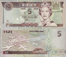 Fiji 2002 - 5 Dollars - Pick 105 UNC - Fidji