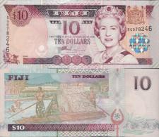 Fiji 2002 - 10 Dollars - Pick 106 UNC - Fidji