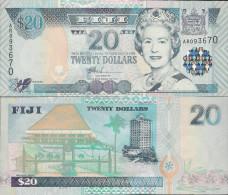 Fiji 2002 - 20 Dollars - Pick 107 UNC - Fidji