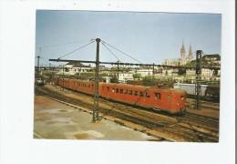 EN GARE DE CHARTRES (19 05 1975) 04 TRAIN DE 4 AUTOMOTRICES ELECTRIQUES DITES DE RAMASSAGE  SERIE Z 3800 - Chartres
