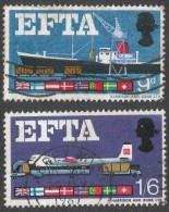 Great Britain. 1967 European Free Trade Association (EFTA). Used Complete Set. SG 715-716 - 1952-.... (Elizabeth II)
