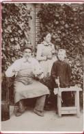 Photographie Sur Carton /Grand  Format/Grand Pére Bricole/Vers  1910   PHOTN64 - Non Classificati