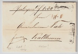 Schweiz, 1848, St. Gallen, Fahrpost! , #4311 - Schweiz