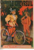 CP - CYCLES LE CHEVREUIL - JULES LAMY - AGENT REGIONAL - C14 - NOS CYCLISTES - F. NUGERON - Publicidad