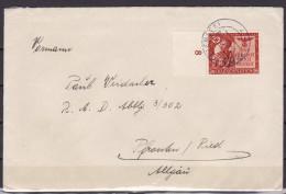 Brief 1943. Mi 863 - Allemagne