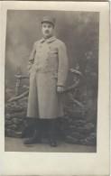Photographie Carte Postale /Militaire En Pied  En Vareuse Avec Képi// Vers 1920   PHOTN72 - Non Classificati