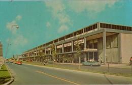 Cpm USA  NEW-YORK  AEROPORT INTERNATIONAL JOHN F.KENNEDY, Aile Ouest, Animée Voitures , Terminal SABENA - Aérodromes