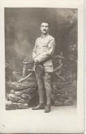 Photographie Carte Postale /Militaire En Pied  Avec Képi à La Main // Vers 1910- 1920   PHOTN73 - Non Classificati