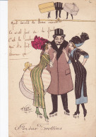 Illustrateur NAILLOD Charles, Joyeux Trottins,  Genre Sager AVT Série 150 - Naillod