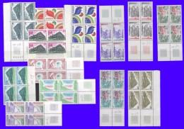Service UNESCO  Série De 13 Blocs De 4 De 1978 à 1982 Neufs** - Service