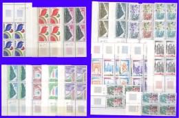 Service UNESCO  Série De 19 Blocs De 4 De 1978 à 1982 Neufs** - Service