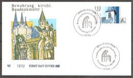 BRD 2001 - Michel 2199 - FDC (M) - Eglises Et Cathédrales