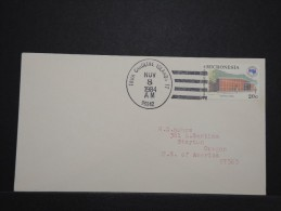 MICRONESIE - Enveloppe Pour Les Etats Unis - Rare - Lot P14314 - Micronésie