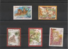 POLYNÉSIE  Horoscope Chinois Années 1998/2003   N° Y/T : 555-579-633-682-705** - Polynésie Française