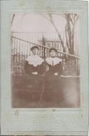 Photographie Montée Sur Carton /Grand Format//Les Deux Soeurs ?//Vers 1910 PHOTN83 - Non Classificati