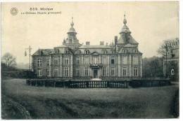 1920 LIEGE MODAVE, LE CHATEAU (FACADE PRINCIPALE) // BRUXELLES - UDINE (ITALIA) - Belgique