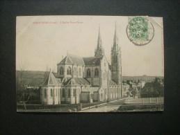 Vimoutiers église Notre Dame -  P. Bunel Circulée  L235 - Vimoutiers