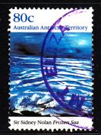 Australian Antarctic Territory Used Scott #L80 80c 'Frozen Sea' Painting By Sir Sidney Nolan - Australian Antarctic Territory (AAT)