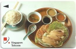 Singapore - Singapore Food 1, 22SIGA, 1992, 950.000ex, Used - Singapour