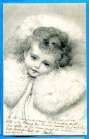 F541, Bébé Dans Un Col De Fourrure, Précurseur, Circulée  1903 - Babies