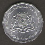 SOMALIA 10 SENTI 1976 - Somalia