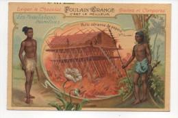 Hutte Aérienne De Papous (Nle Guinée) - Les Habitations Primitives - Gaufré - Poulain