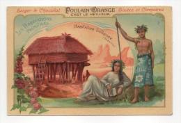 Habitation Taïtienne (Océanie) - Les Habitations Primitives - Gaufré - Poulain