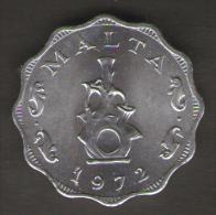 MALTA 5 MILS 1972 - Malta