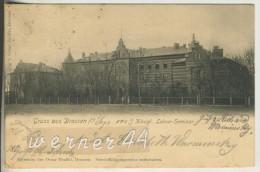 Gruss Aus Drossen V.1903  Das Kgl. Lehrer Seminar (18163) - Pommern