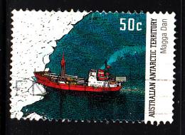 Australian Antarctic Territory Used Scott #L121 50c ´Magga Dan´  - Ships - Australian Antarctic Territory (AAT)