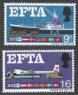 Great Britain. 1967 European Free Trade Association (EFTA). MNH Complete Set. SG 715-716 - 1952-.... (Elizabeth II)