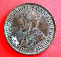 1912 - One Half Penny - Australie - Monnaie Pré-décimale (1910-1965)