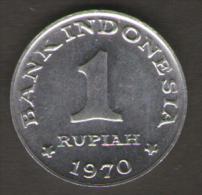 INDONESIA 1 RUPIAH 1970 - Indonesia