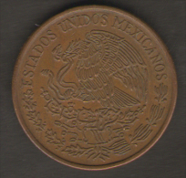 MESSICO 20 CENTAVOS 1973 - Messico