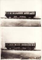 2 Model Railway Carriage Photos GWR Brake 3rd Coach 1 Gauge ? - Treinen