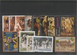 POLYNÉSIE  Fêtes-Heiva  Années 1997/2009 Tous** - Collections, Lots & Séries