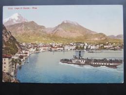 AK RIVA DEL GARDA Schiff Ca.1910 /// D*18474 - Italien