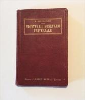 Prontuario Monetario Universale Hoepli Edizione Del 1931 - Libri, Riviste, Fumetti