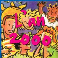POCHETTE GRATTAGE FDJ FRANCAISE DES JEUX PLV 13X13cm PUBLICITE 6 VOLETS SOIT 12 PAGES NEUVE AVEC CALENDRIER DE L'AN 2000 - Reclame