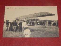 MILITARIA - ARMEE BELGE -   Un Aéroplane Militaire - Matériel