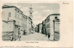 Emilia Romagna-faenza-faenza Corso Porta Ponte Veduta Animata Primi 900 - Faenza