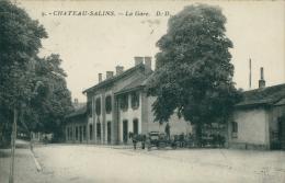 57 CHATEAU SALINS / La Gare / - Chateau Salins