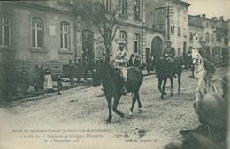 57 CHATEAU SALINS / Lieutenant Colonel Rollet, 17 Novembre 1918 / - Chateau Salins