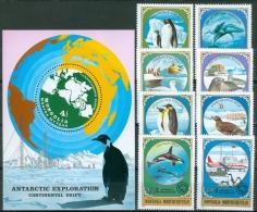 Mongolia 1980 Antarctic Animals And Exploration MNH** - Lot. A382 - Mongolia
