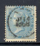 INDIA, 1865 ½ Anna (Die I) Very Fine Used, SG54 - 1882-1901 Empire