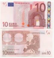 BILLET DE 10 EUROS  U Imp L 052 A 5 Charge 91  UNC - EURO