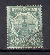 BERMUDA, 1906 ½d Green Superb Used, SG36, Cat £4 - Bermuda