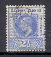 CAYMAN ISLANDS, 1905 2½d (wmk Multiple CA) Superb Used, SG10 - Kaaiman Eilanden