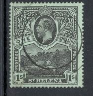 ST HELENA, 1912 1/- Superb Used, Cat £35 - Sint-Helena
